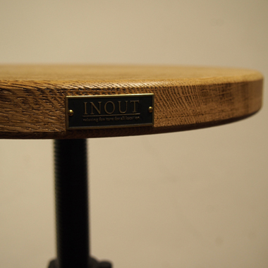 Stool Wood (High)